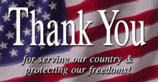 Thank You Veterans!